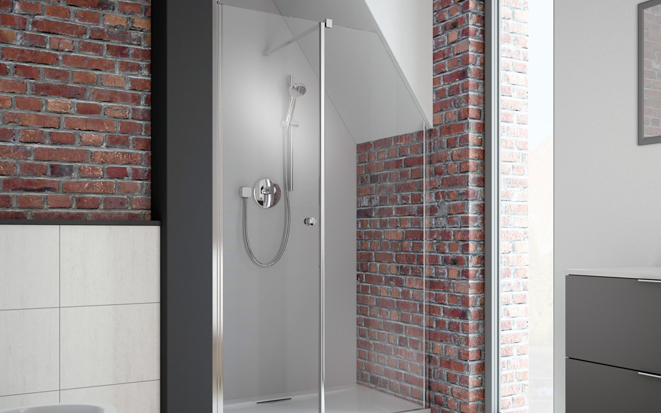 Custom Shower Glass Arlington Heights Glass And Showers - Commercial bathroom enclosures